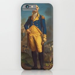 George Washington - Military Portrait iPhone Case