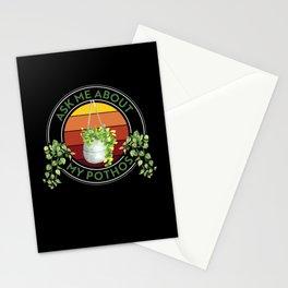 Plant, Plant House plant, Pothos Stationery Cards