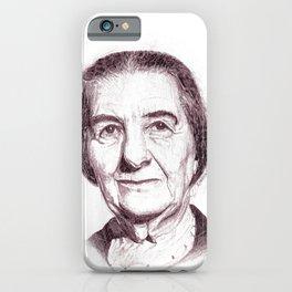 Golda Meir iPhone Case