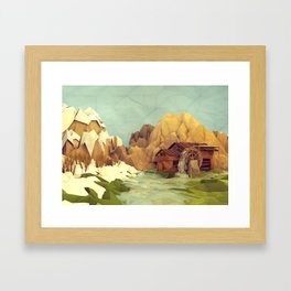 Watermill Framed Art Print