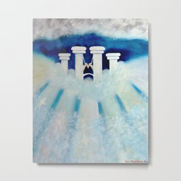 HEAVEN'S GATES Metal Print