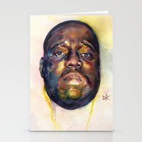 biggie Stationery Cards featuring Biggie  by Kyle Miller