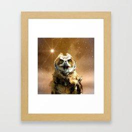 King of space Framed Art Print
