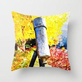The Golden Age Throw Pillow