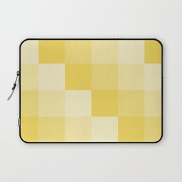 Four Shades of Yellow Square Laptop Sleeve