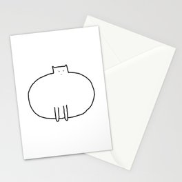 Cat 91 Stationery Cards