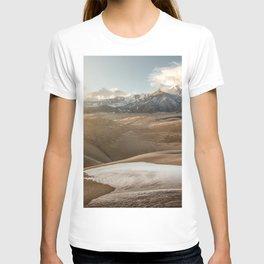 Desert Snow - Great Sand Dunes National Park T-shirt