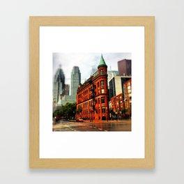 Toronto's Flatiron Framed Art Print