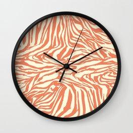 Zebra Design Wall Clock
