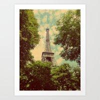 postcard Art Prints featuring Postcard by Emma.B