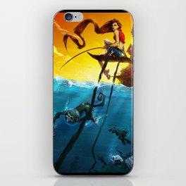 Sea Monkeys iPhone Skin