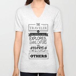 The Traveler Unisex V-Neck