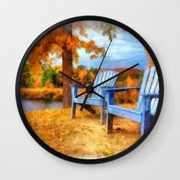 Autumn Splendor Wall Clock