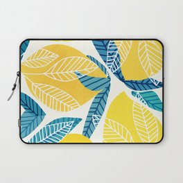 Lemon Tree / Abstract Fruit Art Laptop Sleeve