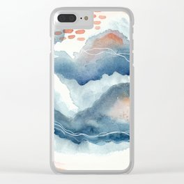 After Dark || The Midnight Series Clear iPhone Case