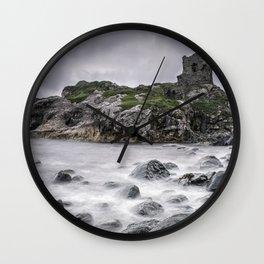 Kinbane Castle VII Wall Clock
