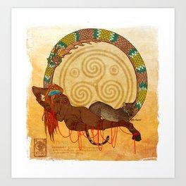 Asima Art Print