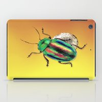 beetle iPad Cases featuring Beetle by Ganech joe