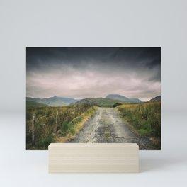 Mountain Panorama Mini Art Print