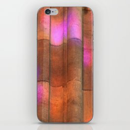 stained-glass reflection iPhone Skin