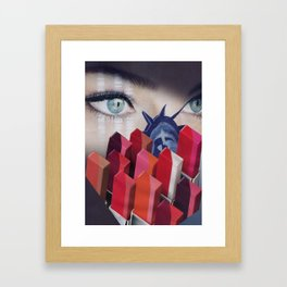 Wondermei Ladder to Heaven Framed Art Print