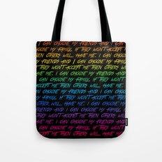 I Can Choose Tote Bag