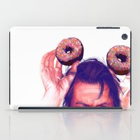 actor iPad Cases featuring Steve Buscemi and donuts by Thubakabra