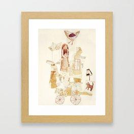 Harmonie-Transport Framed Art Print