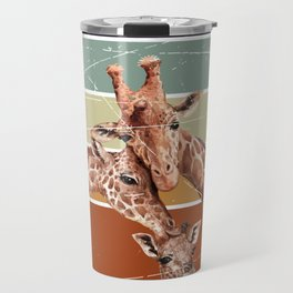 Giraffe Animals Travel Mug