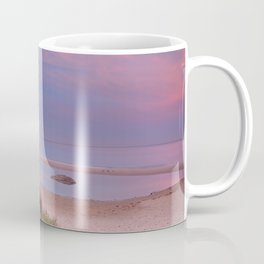 """Tarifa"". Atlantic Ocean beach Coffee Mug"