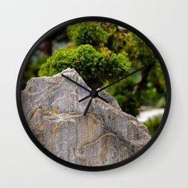 Rock Garden Mountain Wall Clock