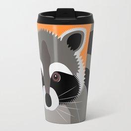 Raccoon Mischief Travel Mug
