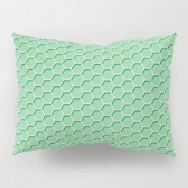 Green Honeycomb Pillow Sham