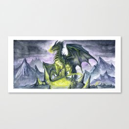 As Dusk Fell at the Standing Stones Canvas Print