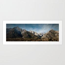 Mount Whitney - Lone Pine California Art Print
