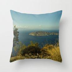 La Isla Psira Throw Pillow