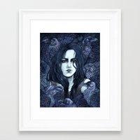 marceline Framed Art Prints featuring Marceline by Angela Rizza