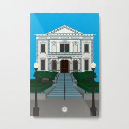 Crocker Art Museum Metal Print