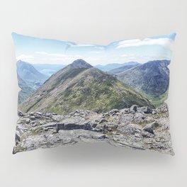 Aonach Eagach from Stob Coire Raineach Pillow Sham