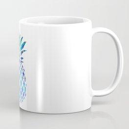 Watercolor and Splatter Pineapple I Coffee Mug