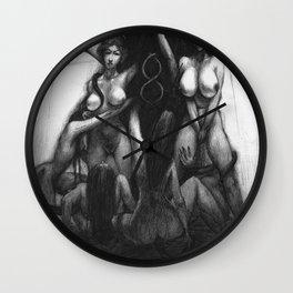 brides of evil Wall Clock