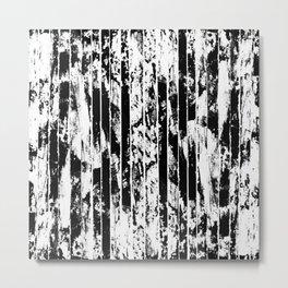 Strips Metal Print