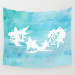 Kingdom Hearts Watercolor Wall Tapestry