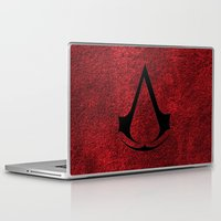 assassins creed Laptop & iPad Skins featuring Creed Assassins Brotherhood by aleha