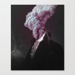 alternative reality - blue/pink Canvas Print