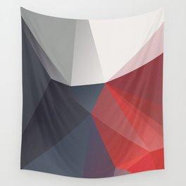 Darkness – modern polygram illustration Wall Tapestry