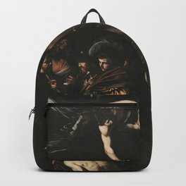 The Seven Works of Mercy - Caravaggio Backpack