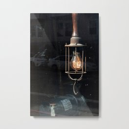 What Light Through Yonder Window... Metal Print