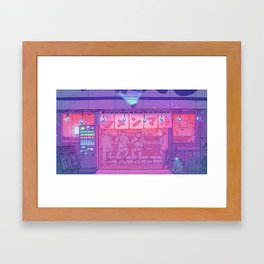 Ramen Shop Framed Art Print
