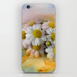 Flowers in Yellow iPhone Skin
